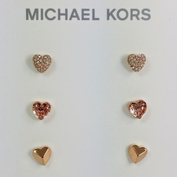 f01c52f9a41f ... Rose Gold Earrings ! NWT. Michael Kors. M 5ad8f531a825a66fe8f16d1d.  M 5ad8f532daa8f6780eb52b0f. M 5ad8f531d39ca2a0b0d6c166.  M 5ad8f5318df470f8c4f180cd